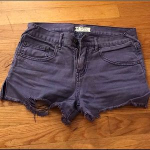 Free People High Waisted Shorts 26
